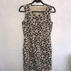 Banana Republic Cheetah Print Dress Size 4